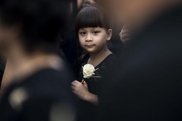 Ceremonia kremacji króla Tajlandii Rama IX - Sputnik Polska