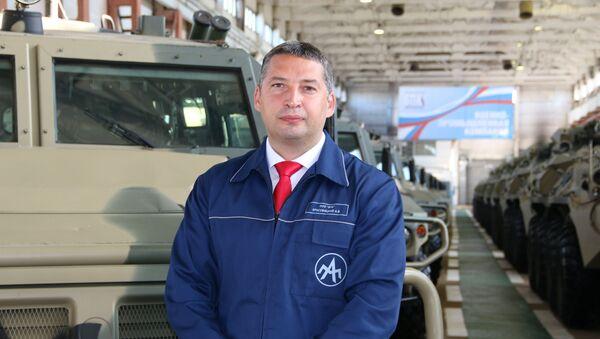 """Dyrektor generalny """"Kompanii Wojskowo-Przemysłowej"""" Aleksander Krasowicki - Sputnik Polska"""