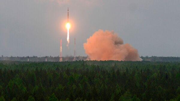 Start rakiety nośnej Sojuz 2 z aparatem kosmicznym Kosmos 2519 z kosmodromu Plesieck - Sputnik Polska