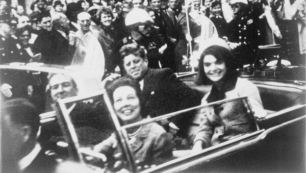 Zamach na Johna F. Kennedy'ego - Sputnik Polska