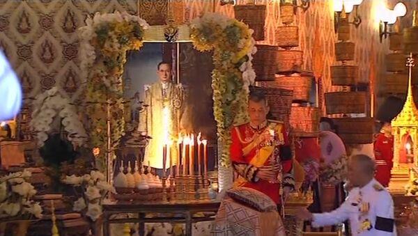 Ceremonia pogrzebu króla Tajlandii - Sputnik Polska