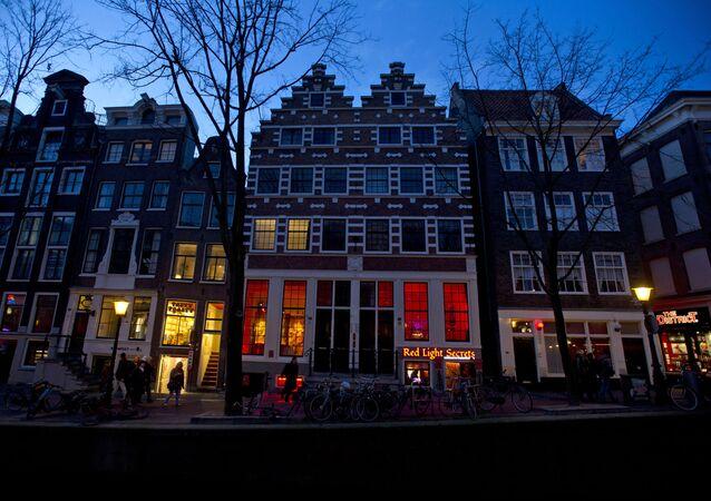 Muzeum Red light secrets w Amsterdamie