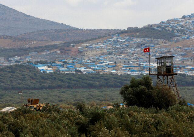 Na granicy Turcji i Syrii