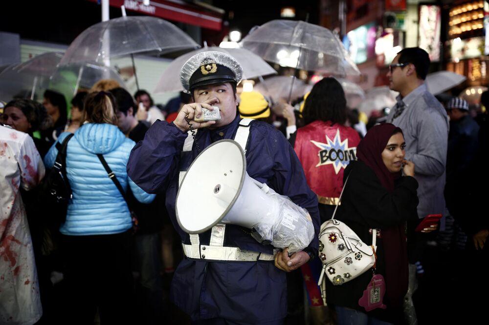 Parada z okazji Halloween w Japonii