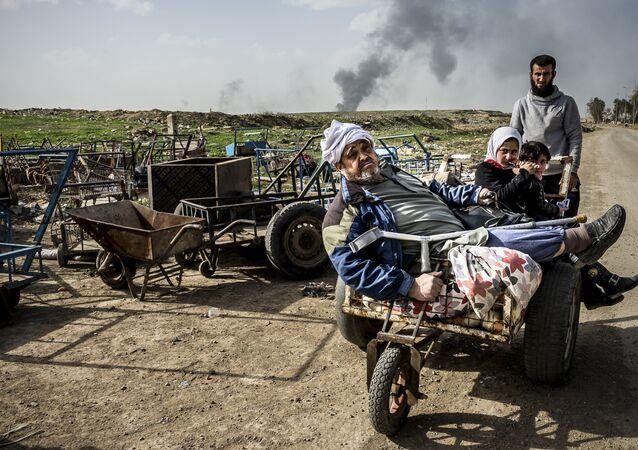Alessandro Rota, Operacja w Mosulu. Irak
