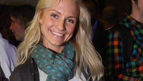Prezenterka telewizyjna i radiowa, dziennikarka Jekaterina Gordon - Sputnik Polska