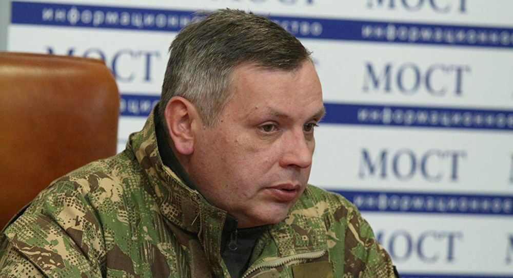 """Dowódca batalionu """"Donbas"""" Wiaczesław Własenko"""