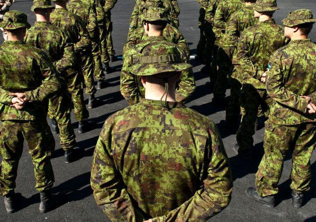 Żołnierze fińskiej armii
