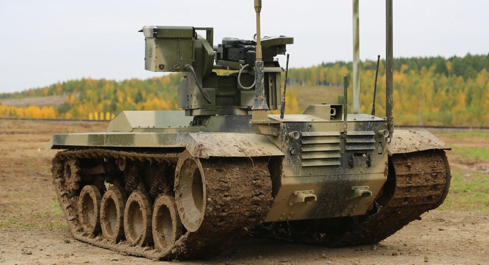 """Robot bojowy """"Nerechta-2"""""""