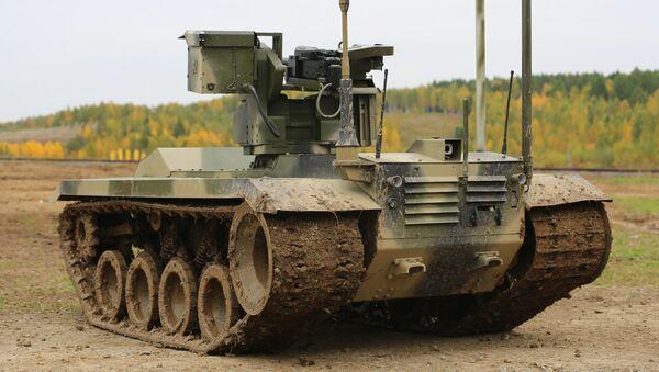 """Robot bojowy """"Nerechta-2"""" - Sputnik Polska"""