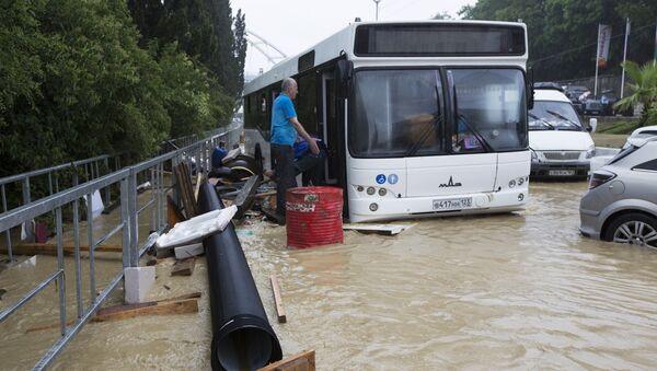 Potop w Soczi - Sputnik Polska