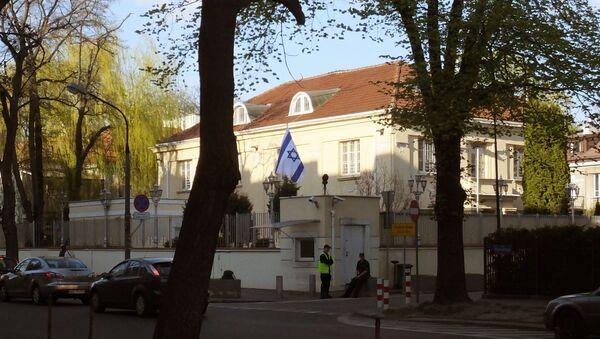 Ambasada Izraela w Warszawie - Sputnik Polska