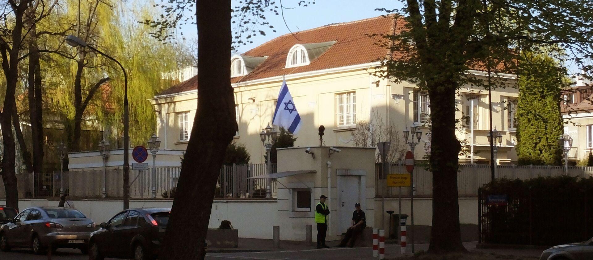 Ambasada Izraela w Warszawie - Sputnik Polska, 1920, 12.02.2021