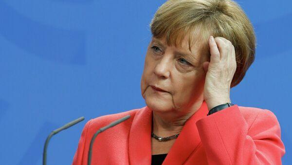 Kanclerz Angela Merkel - Sputnik Polska