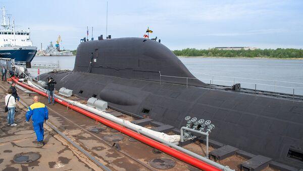 """Okręt podwodny projektu 885 """"Jasień"""" - Sputnik Polska"""