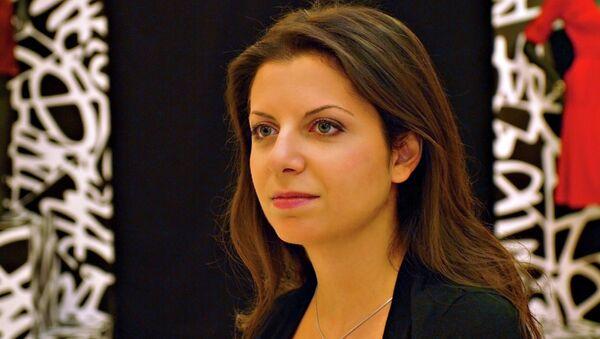 Redaktorka naczelna agencji Rossiya Segodnya i telewizji RT Margarita Simonyan - Sputnik Polska