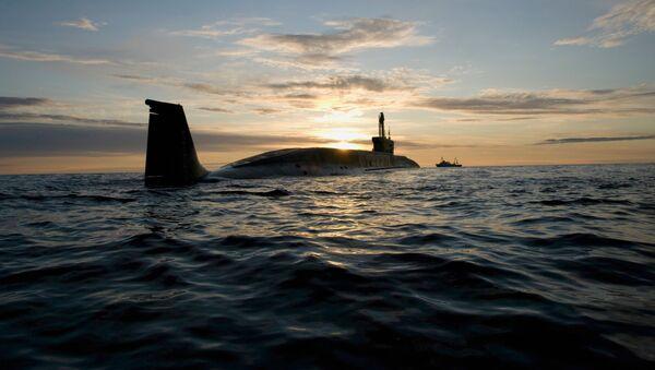 "Okręt podwodny projektu 955 ""Borei"" - Sputnik Polska"