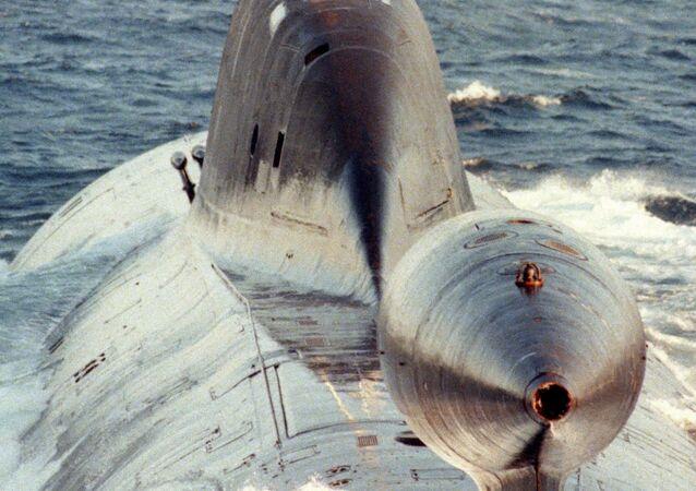 """Projekt 971 """"Szczuka-B"""" (w kodzie NATO """"Akula"""")"""