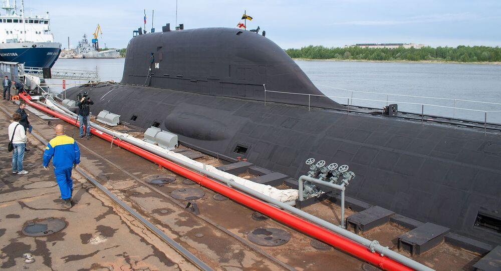 """Okręt podwodny projektu 885 """"Jasień"""