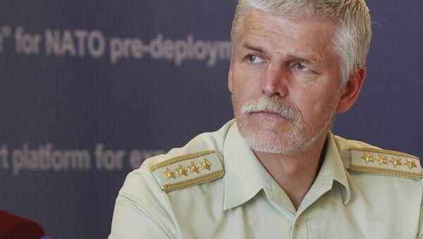 Szef Komisji Wojskowej NATO generał Petr Pavel - Sputnik Polska