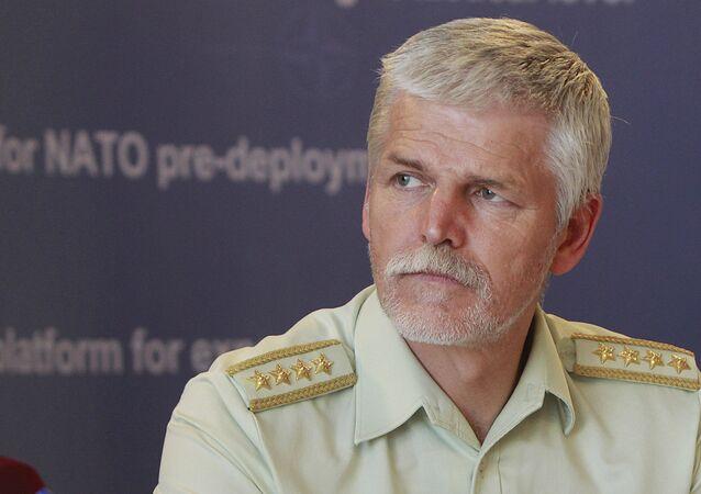 Szef Komisji Wojskowej NATO generał Petr Pavel