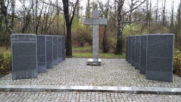 Kwatera żołnierzy niemieckich na Cmentarzu Północnym w Warszawie. - Sputnik Polska