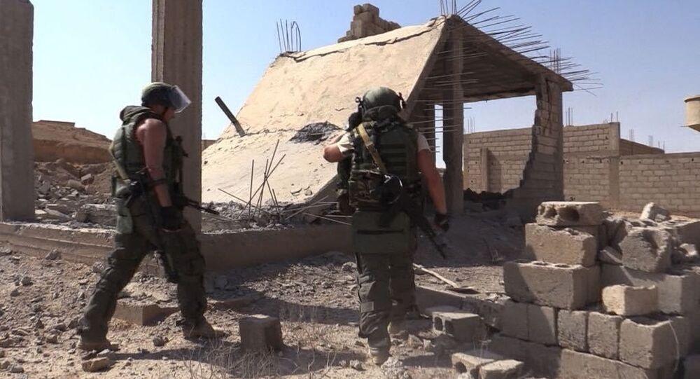 Rozminowanie syryjskiego miasta Dajr az-Zaur