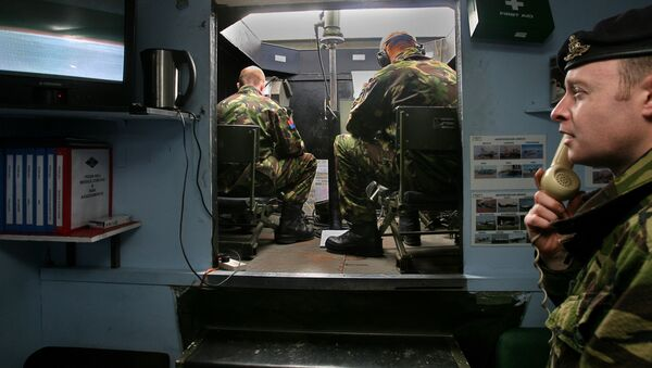 Brytyjscy żołnierze na Falklandach - Sputnik Polska