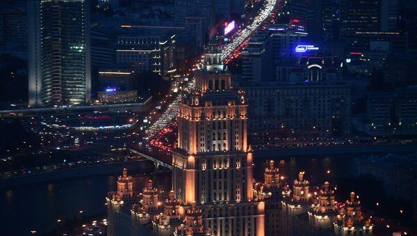 Moskwa nocą - Sputnik Polska