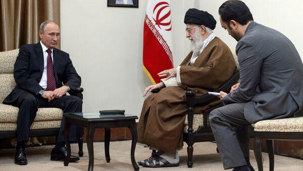 Wizyta Władimira Putina w Iranie - Sputnik Polska