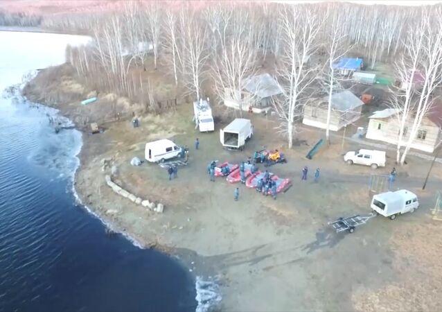 Akcja ratunkowa w Czelabińsku