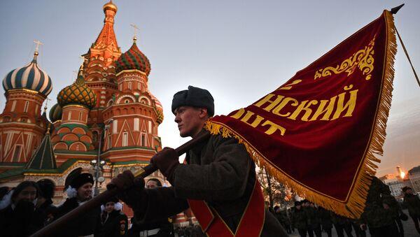 Przygotowania do 76. rocznicy wojennej parady 7 listopada 1941 roku - Sputnik Polska