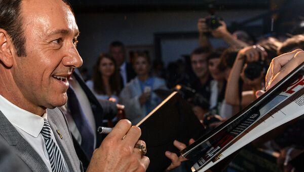 Kevin Spacey w Moskwie - Sputnik Polska