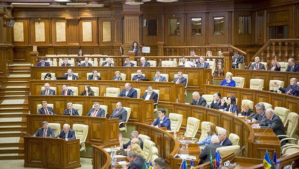 Posiedzenie mołdawskiego parlamentu - Sputnik Polska