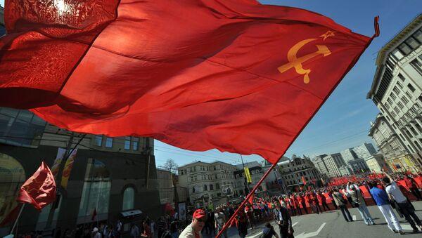Miting Partii Komunistycznej w Moskwie - Sputnik Polska