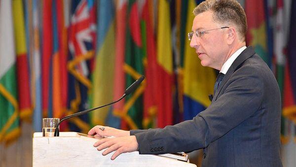 Specjalny przedstawiciel Stanów Zjednoczonych do spraw Ukrainy Kurt Volker - Sputnik Polska