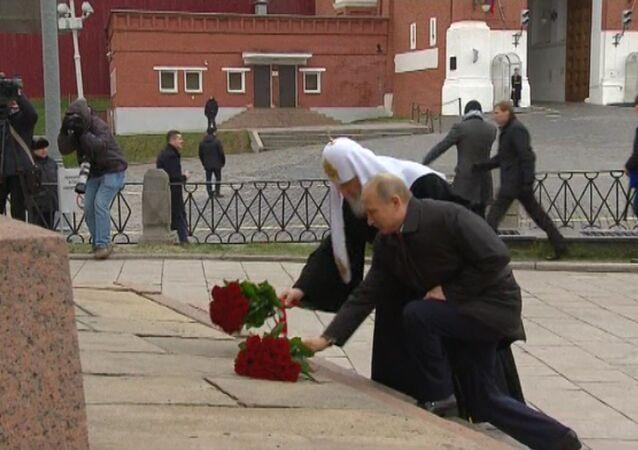 Putin podczas obchodów Dnia Jedności Narodowej
