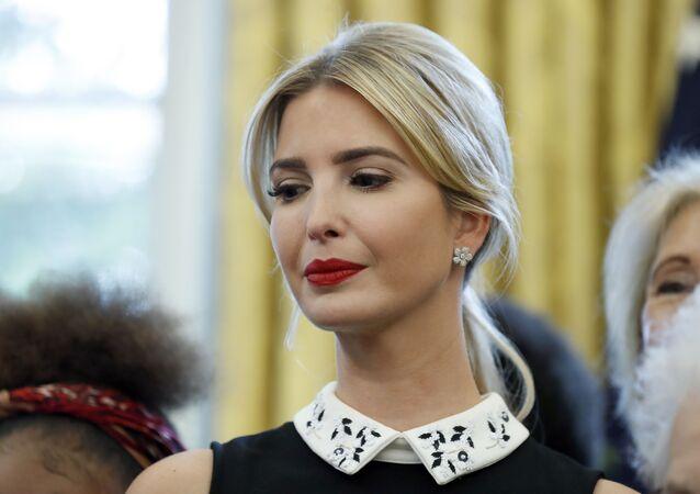 Córka i doradczyni prezydenta USA Ivanka Trump.