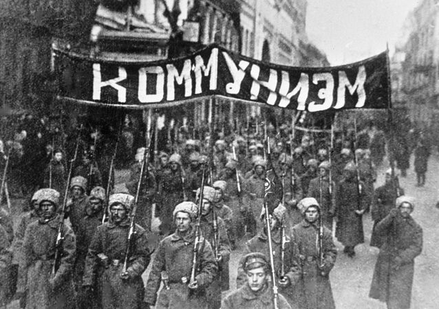 Archiwalne fotografie rewolucji październikowej, Moskwa 1917 r.