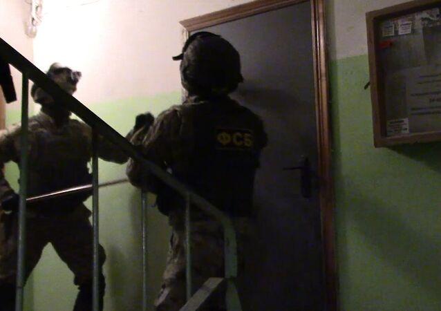 FSB Rosji zatrzymała członków Artpodgotowki