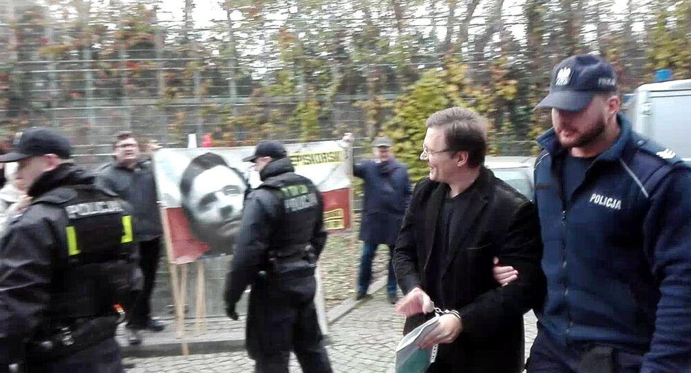 Mateusz Piskorski. Warszawa. 6 listopada 2017 r.
