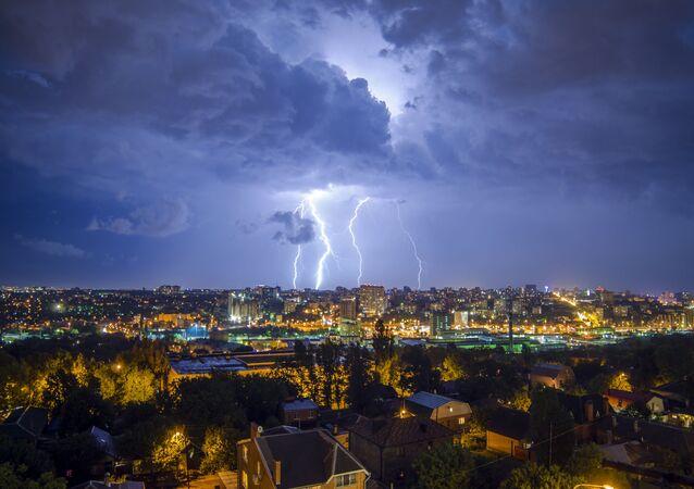 Burza w Rostowie nad Donem