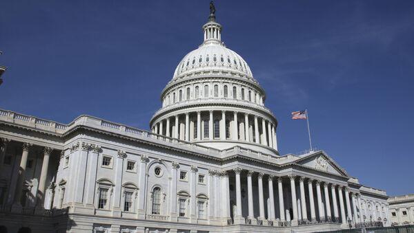 Siedziba Kongresu USA w Waszyngtonie - Sputnik Polska