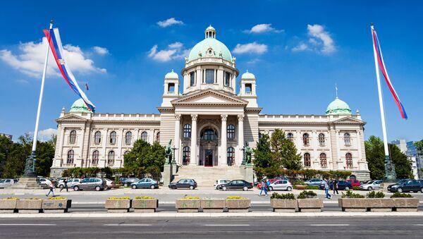 Zgromadzenie Narodowe Republiki Serbii - Sputnik Polska