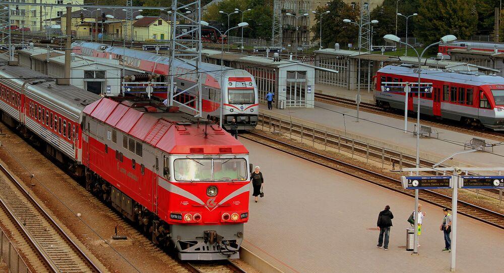 Dworzec w Wilnie, Litwa
