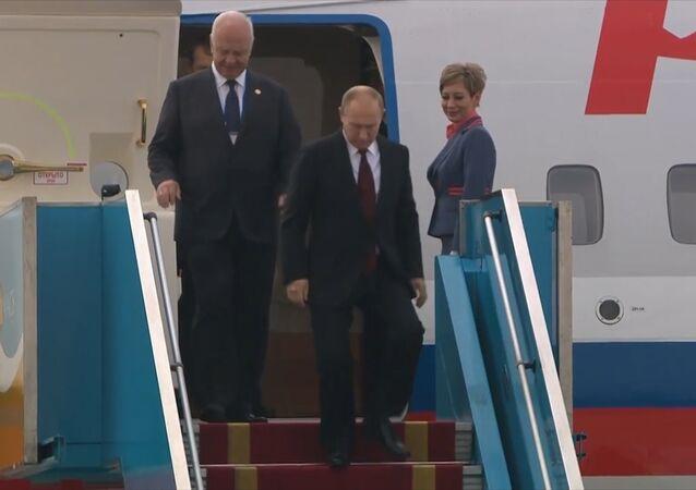 Putin przybył do Wietnamu
