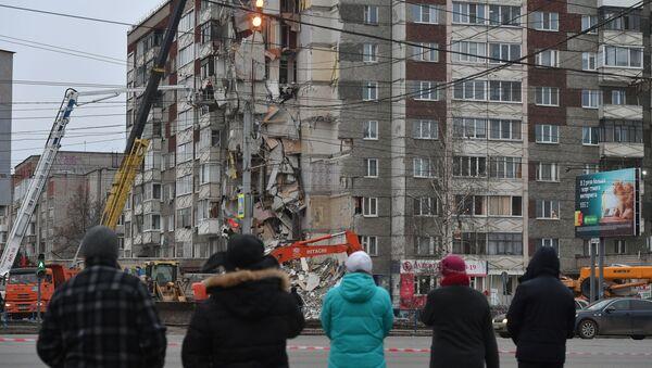 Eksplozja w bloku w Iżewsku - Sputnik Polska