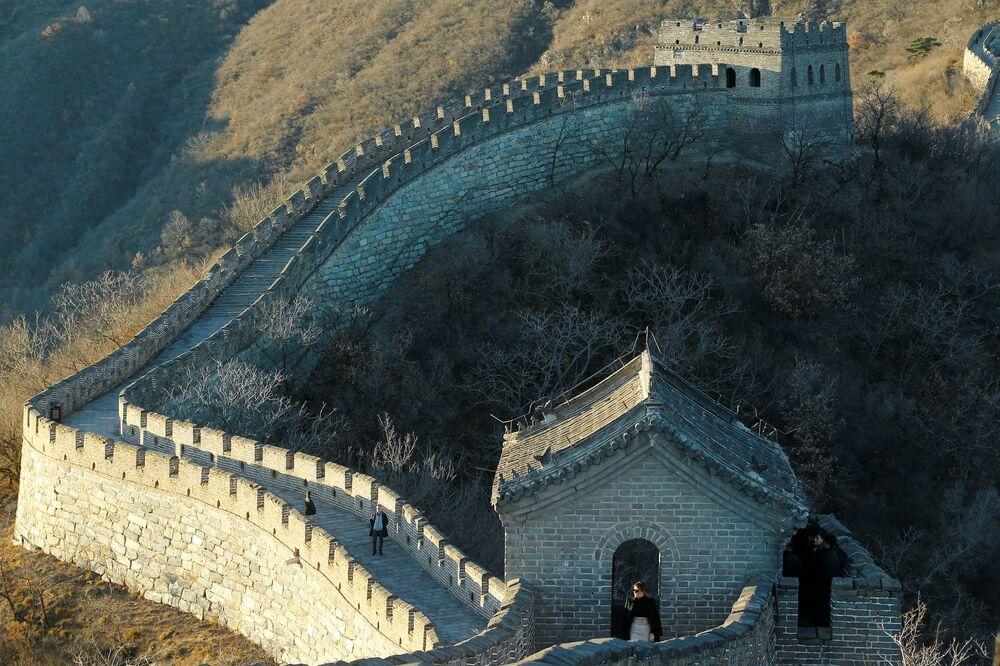 Melania Trump spacerowała po Wielkim Murze Chińskim