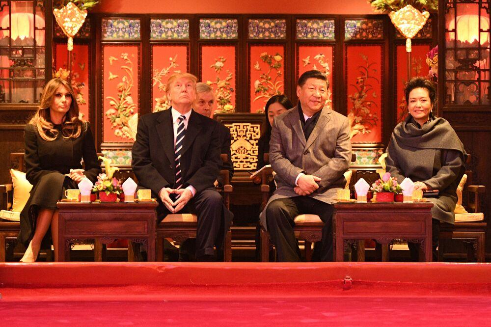 Pary prezydenckie USA i Chin