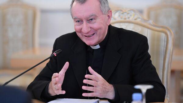 Sekretarz stanu Stolicy Apostolskiej kardynał Pietro Parolin - Sputnik Polska